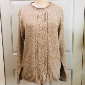 Carolyn Taylor Sweater Oatmeal Color XL